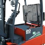G2 series 1.5-2ton three wheel lithium battery forklift truck-10
