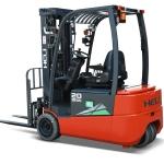 G2 series 1.5-2ton three wheel lithium battery forklift truck-11
