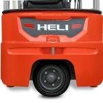 G2 series 1.5-2ton three wheel lithium battery forklift truck-12
