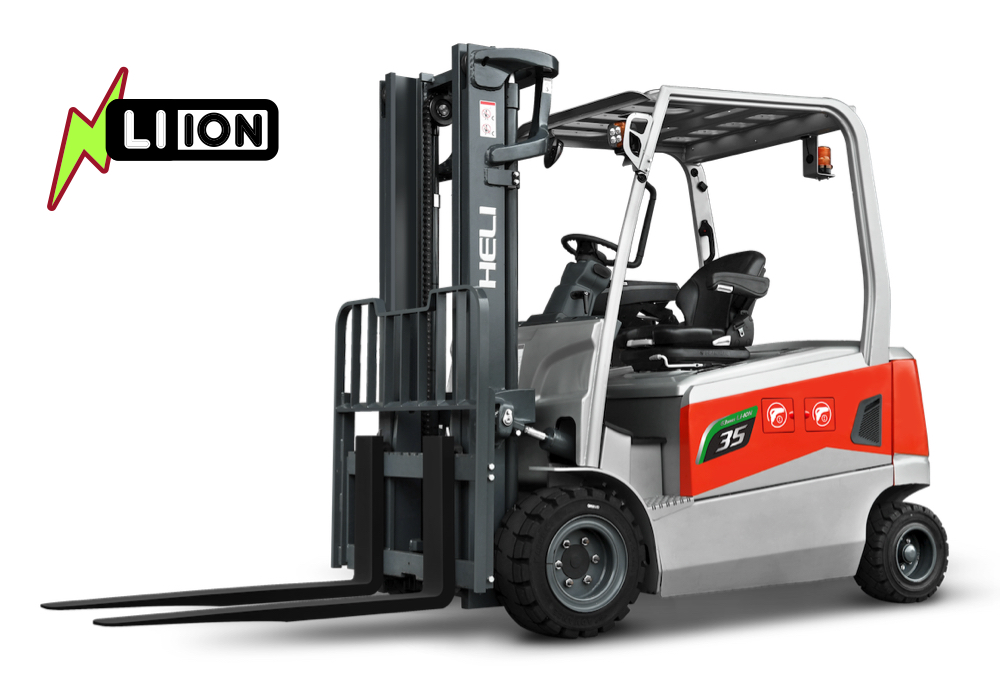G3 series 80V dual front drive 3-3.5 ton Lithium forklift-1