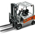 G3 series 80V dual front drive 3-3.5 ton Lithium forklift-2